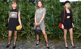 Гости ужина Christian Dior в Париже