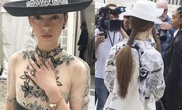 Естественный макияж и низкие хвосты на показе Dior resort