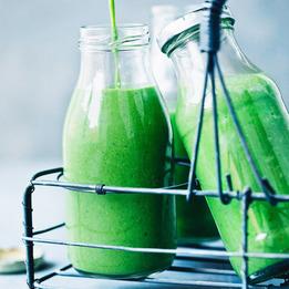 Как приготовить зеленый сладкий смузи