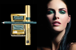 Праздничный макияж Estee Lauder Pure Color Cyber Eyes Christmas Makeup Collection 2011