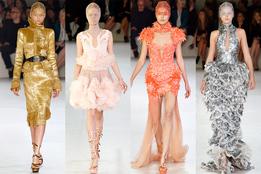 Женская коллекция одежды Alexander McQueen весна-лето 2012