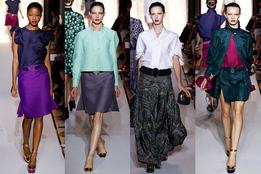 Женская коллекция одежды Yves Saint Laurent весна-лето 2012