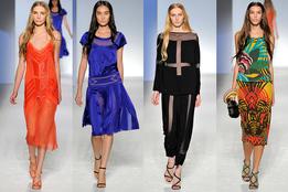 Женская коллекция одежды Alberta Ferretti весна-лето 2012