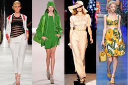 Модные тенденции в показах весна-лето