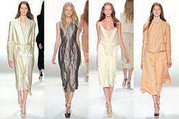 Женская коллекция одежды Calvin Klein Collection весна-лето 2012