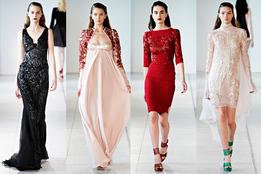 Женская коллекция одежды Antonio Berardi весна-лето 2012
