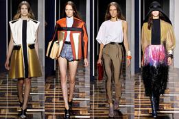 Женская коллекция одежды Balenciaga весна-лето 2012