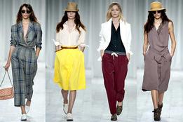 Женская коллекция одежды Paul Smith весна-лето 2012