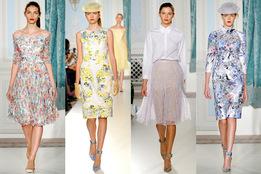 Женская коллекция одежды Erdem весна-лето 2012