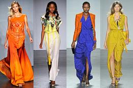 Женская коллекция одежды Matthew Williamson весна-лето 2012