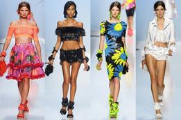 Женская коллекция одежды Blumarine весна-лето 2012