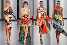 Женская коллекция одежды Mary Katranzou весна-лето 2012