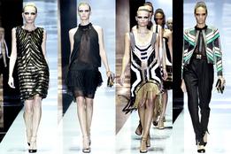 Женская коллекция одежды Gucci весна-лето 2012