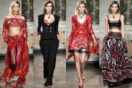 Женская коллекция одежды  Emilio Pucci весна-лето 2012