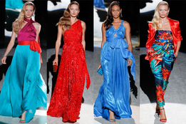 Женская коллекция одежды Salvatore Ferragamo весна-лето 2012