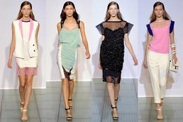 Женская коллекция одежды Costume National весна-лето 2012