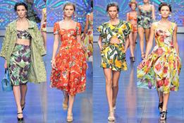 Женская коллекция одежды Dolce & Gabbana весна-лето 2012