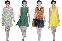 Женская коллекция одежды Marni весна-лето 2012