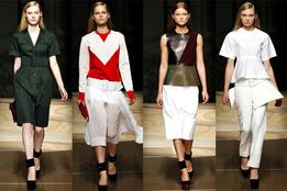 Женская коллекция одежды Celine весна-лето 2012