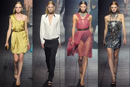 Женская коллекция одежды Lanvin весна-лето 2012