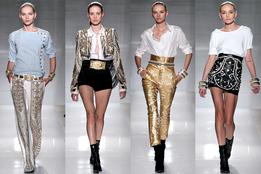Женская коллекция одежды Balmain весна-лето 2012