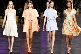 Женская коллекция одежды Cacharel весна-лето 2012
