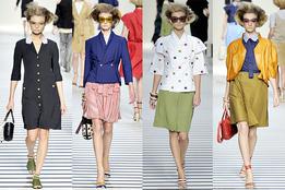 Женская коллекция одежды Fendi весна-лето 2012