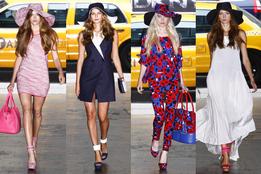 Женская коллекция одежды DKNY весна-лето 2012