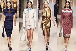 Женская коллекция одежды Loewe весна-лето 2012