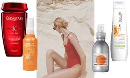Зачем защищать волосы от солнца на пляже