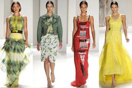 Женская коллекция одежды Carolina Herrera весна-лето 2012