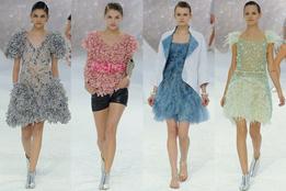 Женская коллекция одежды Chanel весна-лето 2012