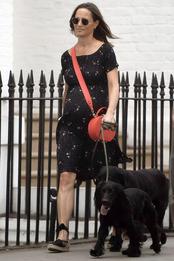 Пиппа Миддлтон в Лондоне