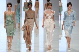 Женская коллекция одежды Ermanno Scervino весна-лето 2012