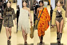Женская коллекция одежды Michael Kors весна-лето 2012