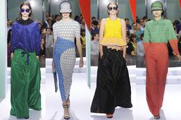 Женская коллекция одежды Kenzo весна-лето 2012