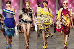 Женская коллекция одежды Missoni весна-лето 2012