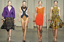 Женская коллекция одежды Donna Karan весна-лето 2012