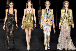 Женская коллекция одежды Roberto Cavalli весна-лето 2012