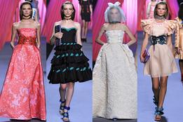 Женская коллекция одежды Victor & Rolf весна-лето 2012