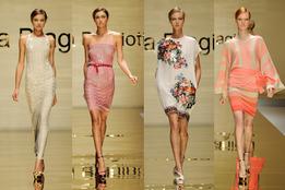 Женская коллекция одежды  Laura Biagiotti весна-лето 2012