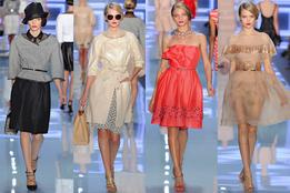 Женская коллекция одежды Christian Dior весна-лето