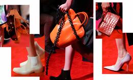Резиновые ковбойские сапоги и спортивные очки, которых у вас еще точно не было, на показе Calvin Klein