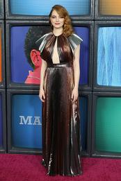 Эмма Стоун в Givenchy на премьере сериала «Маньяк» в Нью-Йорке