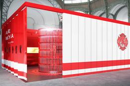 Александр де Бетак строит «огненный» павильон для Galerie Gmurzynska