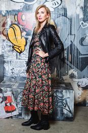 Светлана Бондарчук на открытии выставки «Микки Маус. Вдохновляя мир» в Центре дизайна Artplay