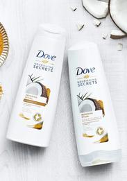 Dove отказались от тестирования продукции на животных
