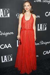 Натали Портман в Christian Dior на гала-вечере L.A. Dance Project в Лос-Анджелесе