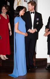 Меган Маркл и принц Гарри на торжественном ужине в Grand Pacific Hotel