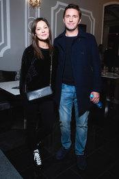 Елена Лядова и Владимир Вдовиченков на премьере фильма «Лоро» в кинотеатре «Иллюзион»